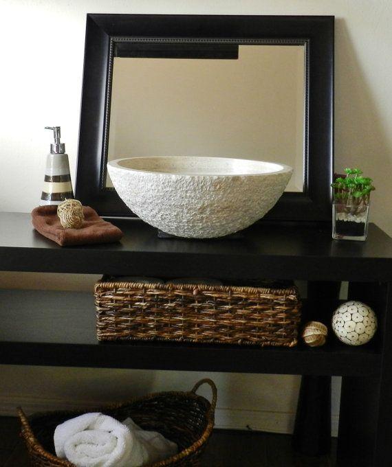 Meuble vasque rustique ~ Solutions pour la décoration intérieure ...