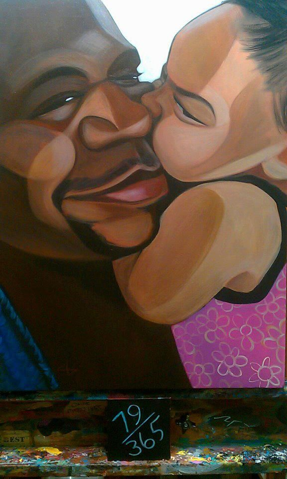 Clara w/ her dad. They adore each other, and it was a mutual decision to not let…