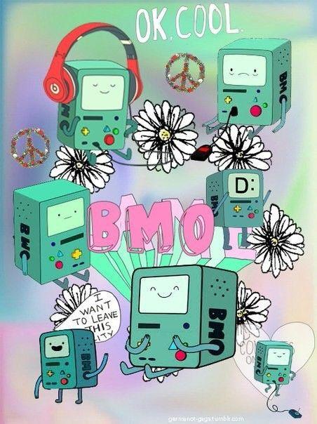 Милый коллажик с милым BMO
