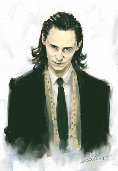 An amazing Loki fan art. Tags: Anime, Fanart, Pixiv, Marvel, Fanart From Pixiv