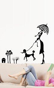 αυτοκόλλητα τοίχου αυτοκόλλητα τοίχου στυλ αυτοκόλλητα ζώων κινούμενα σχέδια PVC τοίχο