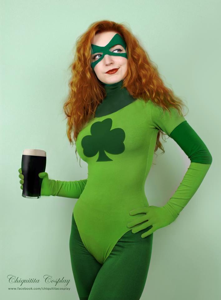 saint patricks day cosplay marvels shamrock happy st