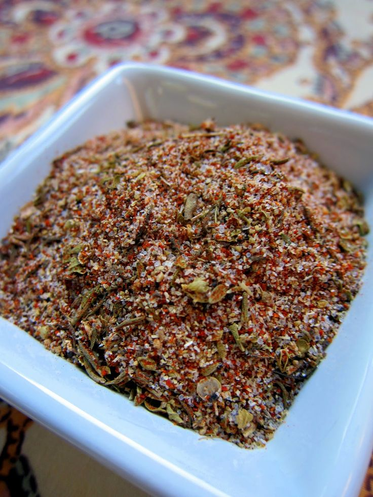 Cajun Seasoning - Quite possibly my favorite seasoning ever! I make so many things now with this seasoning and even made a big bottle of the mixture. It tastes exactly like the cajun seasoning on the french fries at five guys. I am in heaven with this recipe and will use it forever now!