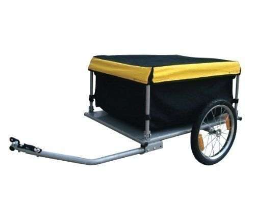 holds up to 40Kg FoxHunter KMS Folded Luggage Utility Cargo Bike Trailer 140 Litre Volume KMS http://www.amazon.co.uk/dp/B0046SGA56/ref=cm_sw_r_pi_dp_Oxnovb1TZXWYH