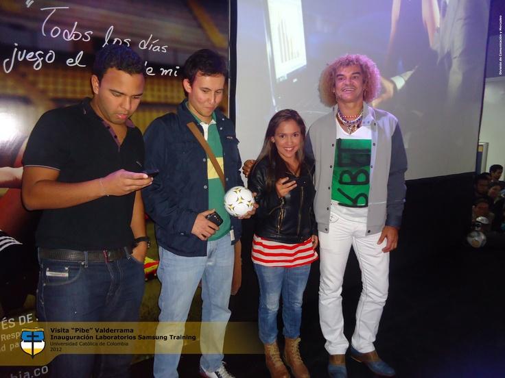 Concursantes que participaron por un Galaxy S3 y más premios.