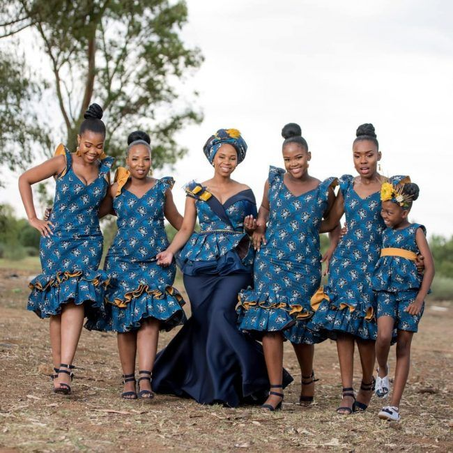 A Tswana Inspired Traditinal Wedding