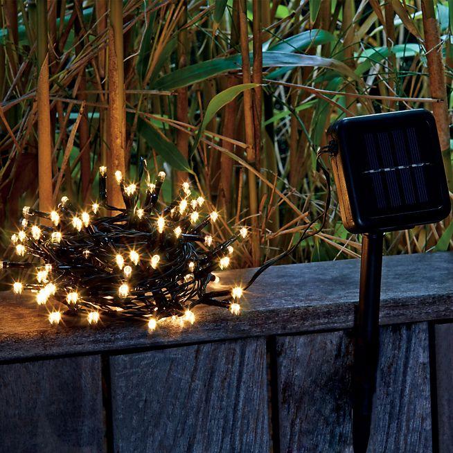 Treelight Guirlande électrique d'extérieur à 100 LED blanc chaud L10m