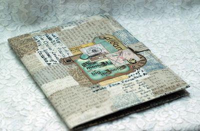 Скрапполезности: МК - папка для детских документов.