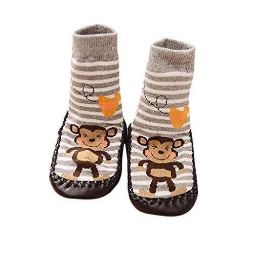 Oferta: 1.98€. Comprar Ofertas de Koly Prewalkers zapatos antideslizantes, Calcetines Bebé, Anti-slip Calcetines Niño (Longitud 15 cm) barato. ¡Mira las ofertas!
