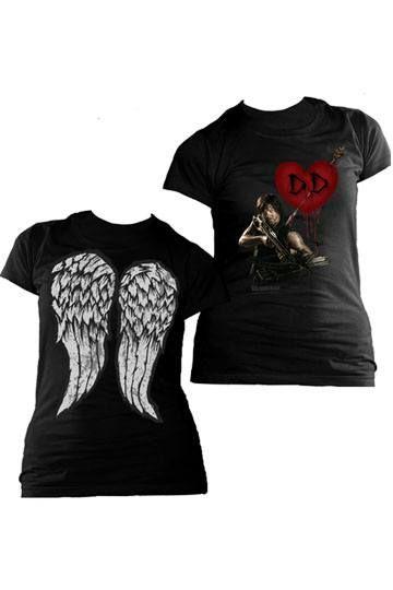 T-Shirt femme Daryl Dixon Love