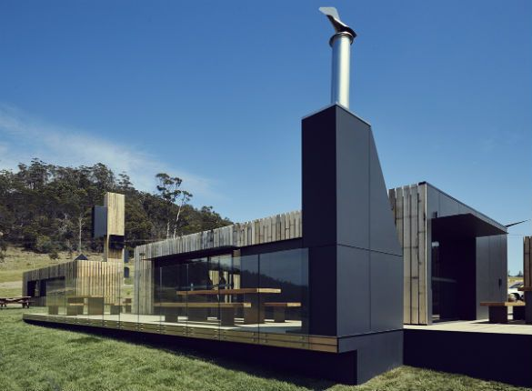 Devils Corner Winery #wine #architecture #australia #tasmania