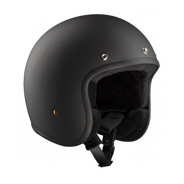 #Bandit #ECE #Black #Matte #Open #Face #Helmet Buy yours on www.helmade.com