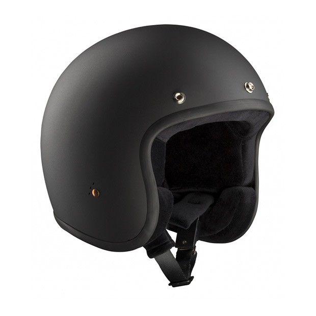 #Bandit #ECE #Black #Matte #Open #Face #Helmet Buy yours on www.helmade.com