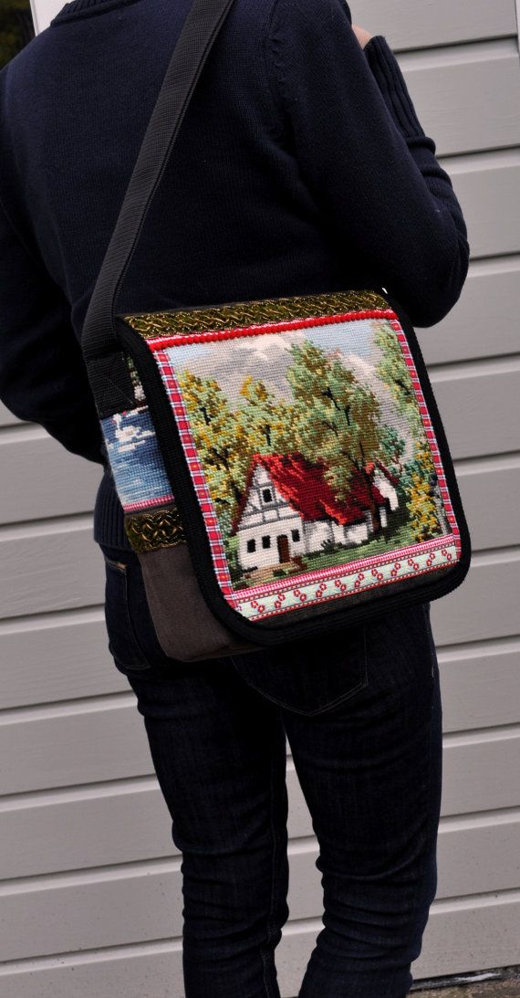 Cute messengerbag by dutchsisters on Etsy, $79.00