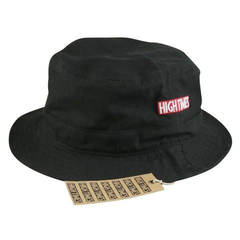 High Times® Bucket Hat - Black - The Hippie House
