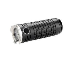 Olight Lampe de poche SR Mini Intimidator II, Betriebsart: Akkubetrieb, Leuchtmittel: LED, Wasserfest, Max. Laufzeit: 16 h, Leuchtweite: 268 m, Lichtstärke: 3200 lm, Gewicht: 181 g