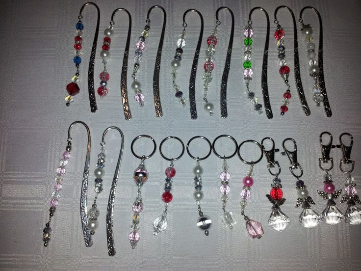 Book marks and key rings