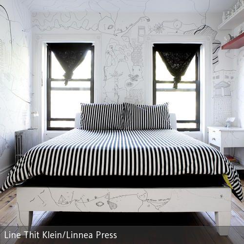 Punkt, Punkt, Komma, Strich   Shantell Martin, Künstlerin In New York,