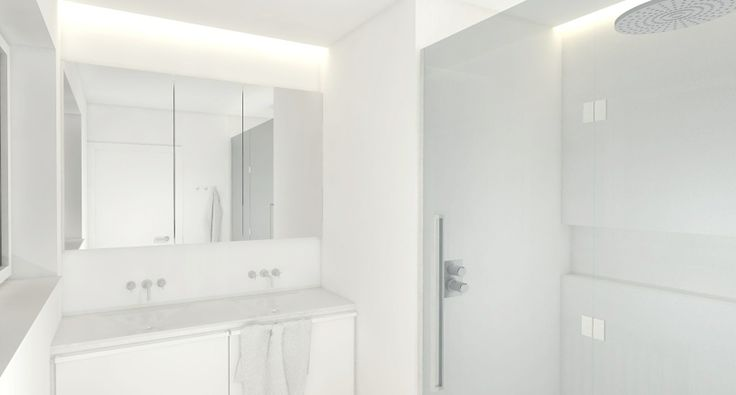 Glasschiebetür nach Maß zur Trennung von Schlaf- und Badezimmer - schiebetür für badezimmer