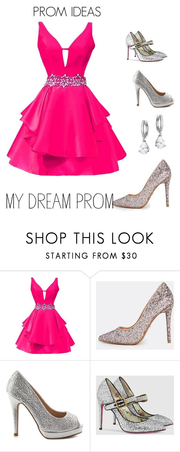 """PROM IDEAS"" by rebeccadavisblogger ❤ liked on Polyvore featuring Pink Paradox London, Gucci and Kate Spade"