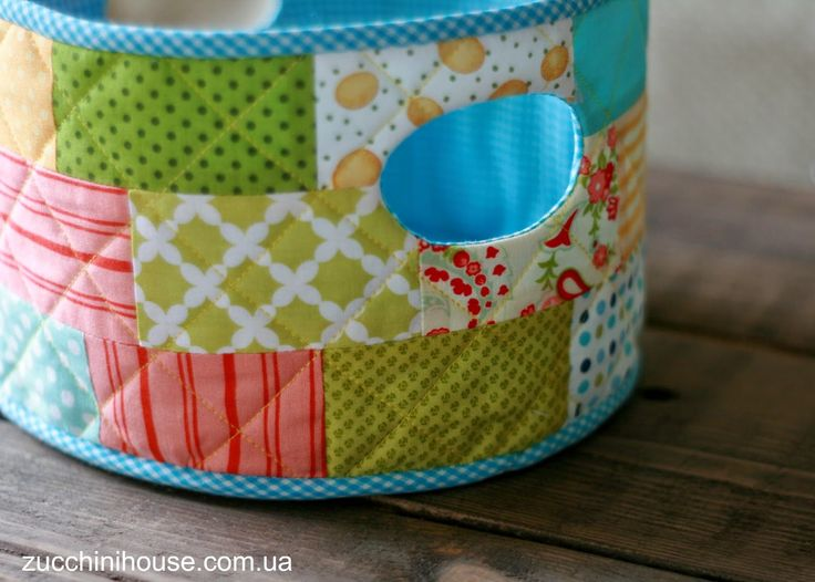 Утилизация лоскутков - кухонный набор / Recycling shreds | Домик маленького Цукиня