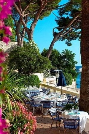 French Riviera town of Juan-les-Pins, France