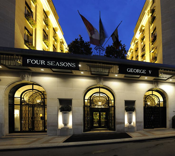 The Mandy Dewey Seasons Hotels And Resorts George V Paris Worldsbesthotels2017