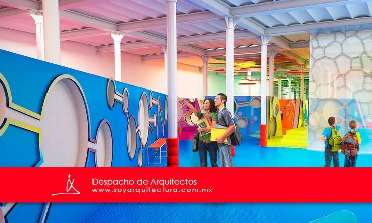Renders para la remodelación del Museo Infantil de la Constancia Mexicana, elaborado por www.soyarquitectura.mx