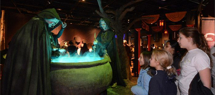"""Visitors in Poison in Myth and Legends...part of an exhibition """"The Power of Poison"""""""