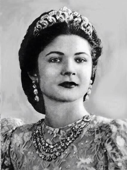 Queen Farida of Egypt.
