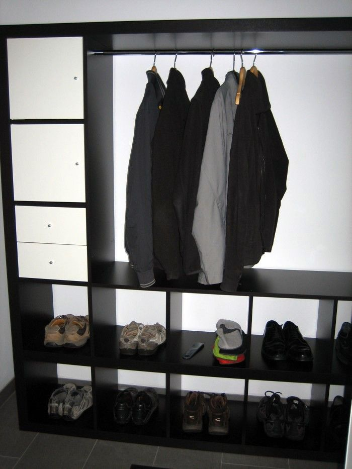 expedit wardrobe garderoben neuer und ikea deko. Black Bedroom Furniture Sets. Home Design Ideas