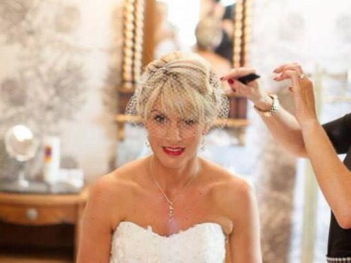 Wedding hair by karin