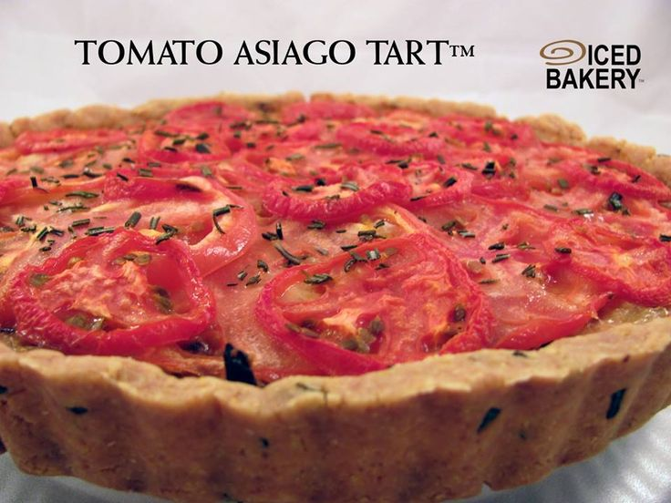Tomato Asiago Tart. Cornmeal Rosemary crust with mozzarella and asiago ...