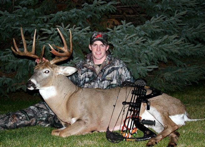 When it comes to ground blinds versus treestands for mature white-tailed deer, the choice for me has always been fairly easy. As in, if there's any chance a treestand can work at a specific location, 9.9 times out of 10 you will find me up a tree, hugging bark. The reason is that treestands offer a litany of bowhunting advantages, not the least of which are far superior viewing of incoming game (allowing more time to adjust and prepare for a shot), and far more accurate judging of trophy