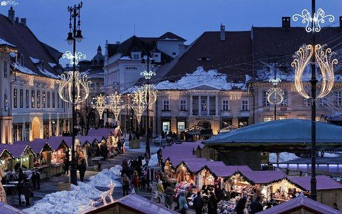 Sibiu, Romania Christmas fair
