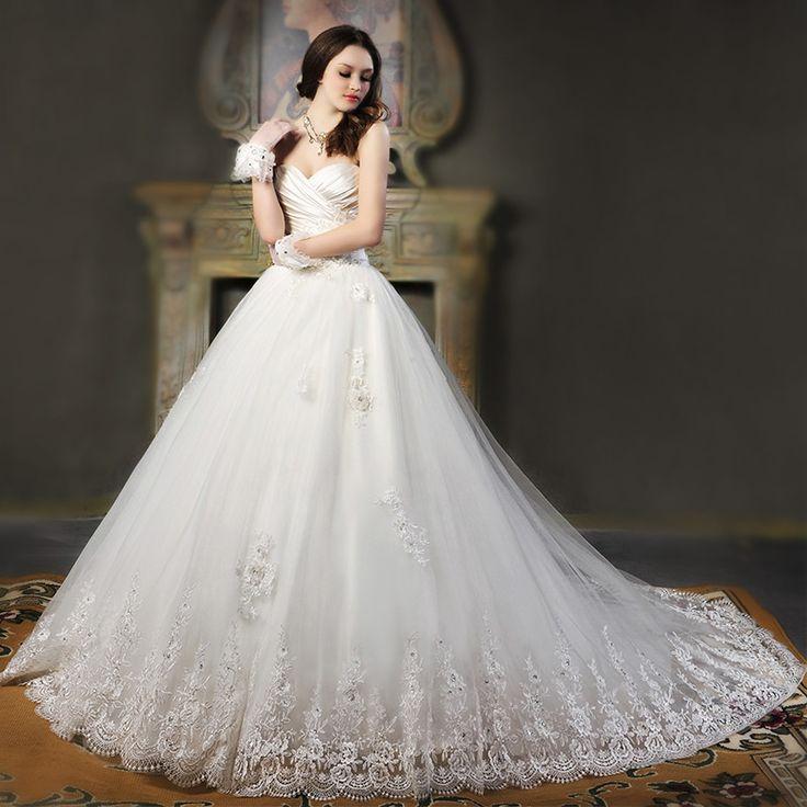 13 best Brautkleider images on Pinterest   Short wedding gowns ...