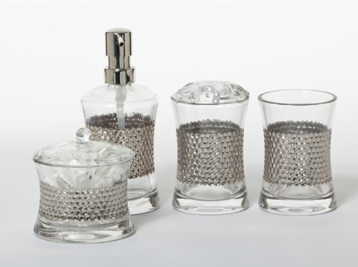 AQ's Honeycomb Countertop Collection for the bathroom.