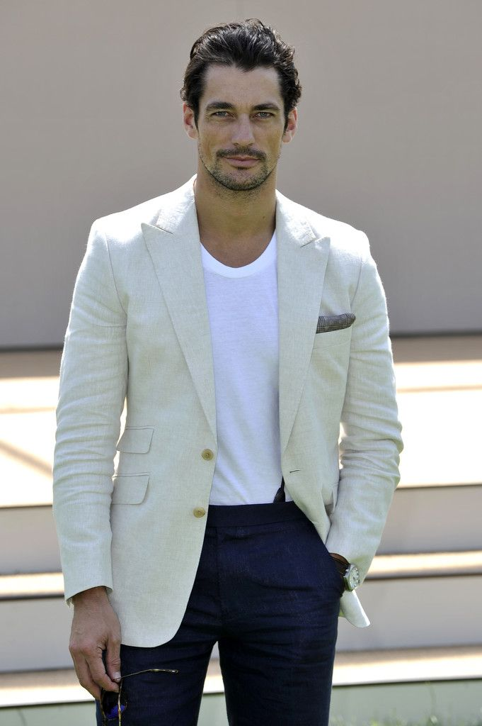 David Gandy Photos: Burberry Prorsum SS15: Arrivals