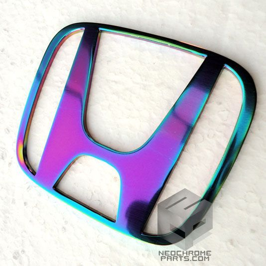 Auro Neo Chrome Honda Emblem — NeoChrome Parts