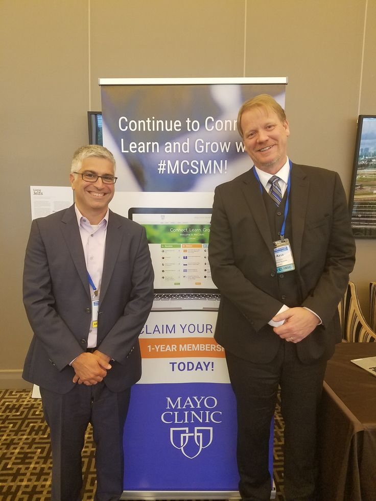Inspire co-founder and VP Amir Lewkowicz, at left, with Lee Aase, Director of the Mayo Clinic Center for Social Media, after Lewkowicz gave a keynote address yesterday at the second international Healthcare and Social Media Summit presented by Mayo Clinic in Melbourne, Australia. #MayoInOz (Nov 2016)