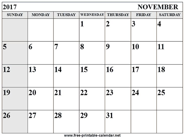 Best Monthly Printable  Calendar Images On