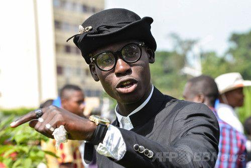ヨウジヤマモトやイッセイミヤケも着るコンゴ民主共和国のおしゃれな男性集団「サプール」 写真22枚 国際ニュース:AFPBB News