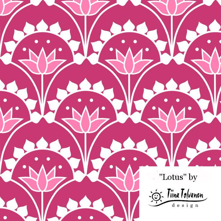 Lotus - Ekologiskt jersey tyg EKO GOTS