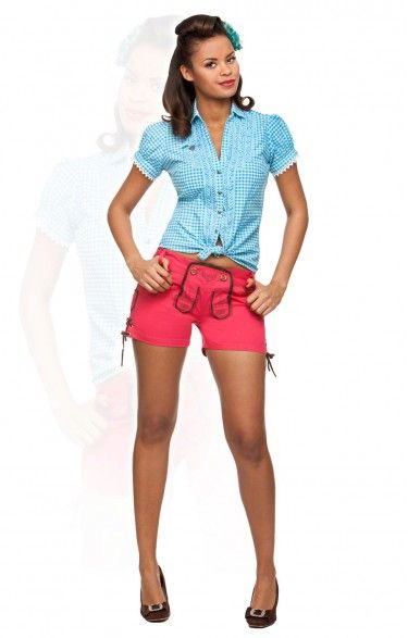 Traditional shorts Roxy campari
