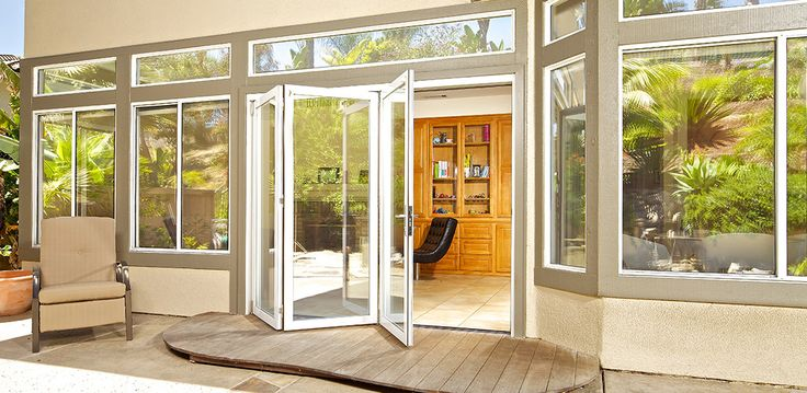 LaCantina Bifold Doors / deck step ? & 106 best Deck doors from the family room images on Pinterest ...