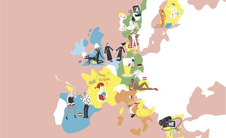 Dime dónde vas y te diré cómo será el sexo ¿Quiénes graban sus relaciones sexuales? ¿En qué país triunfan los tríos? Investigamos cómo se desenvuelve la libido entre los Europeos (y los resultados vienen calentitos). #travel #euforiaonline
