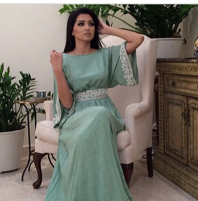 caftan style dress