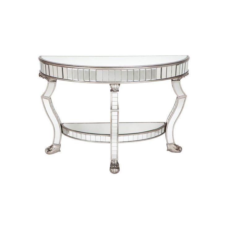 Pearson Console Table Antique Silver 120cm