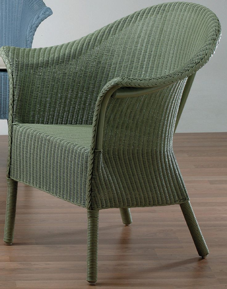 1950s Lloyd loom chair... We used to buy these by the van full new, they sold very well.