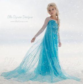 Traje ORIGINAL de Elsa Ella Dynae Custom por EllaDynae en Etsy
